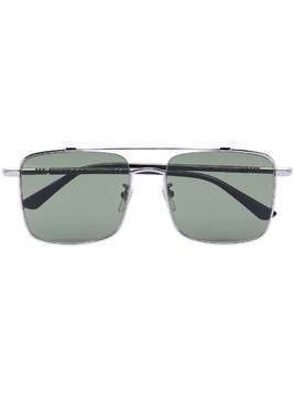 Gucci Eyewear square frame tinted sunglasses - SILVER