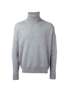 Ami Alexandre Mattiussi oversized turtleneck sweater - Grey