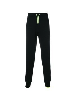 Versus lion logo track pants - Black