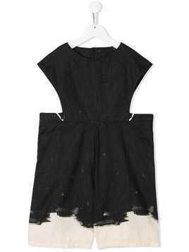 Little Creative Factory Kids cut-out side playsuit - Black
