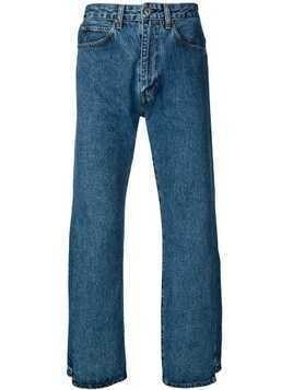 Levi's: Made & Crafted Distorted straight leg jeans - Blue