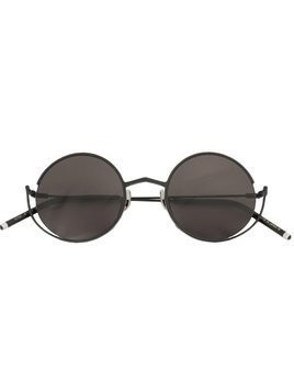 Sener Besim round frame sunglasses - Black