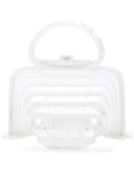Cult Gaia clutch bag - White