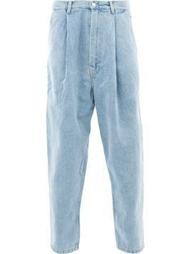Hed Mayner high rise loose fit jeans - Blue