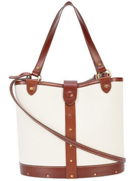 The Row small bucket bag - White