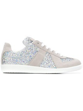 Maison Margiela Replica glitter sneakers - Metallic