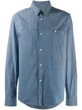 A.P.C. denim chest pocket shirt - Blue