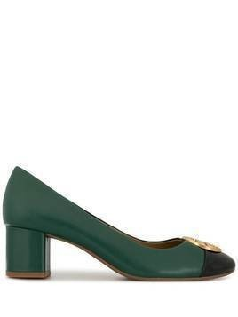 Tory Burch Chelsea 50mm leather pumps - Green