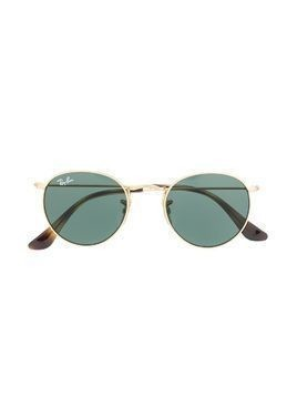 RAY-BAN JUNIOR round frame sunglasses - GOLD