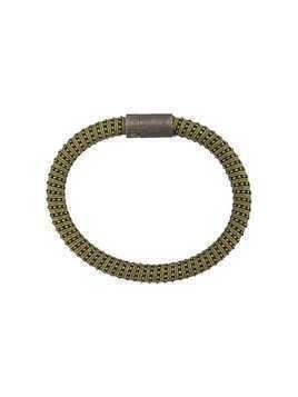 Carolina Bucci Twister band bracelet - Green