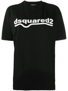 Dsquared2 logo-print T-shirt - Black