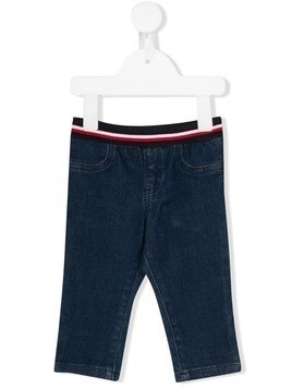 Tommy Hilfiger Junior straight-leg jeans - Blue