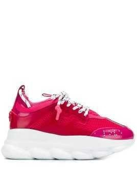 Versace Chain Reaction platform sneakers - Pink