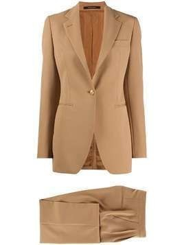 Tagliatore slim fit suit - Neutrals