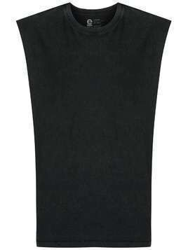 Osklen sleeveless cotton T-shirt - Black