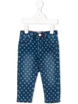 Levi's Kids star printed jeans - Blue
