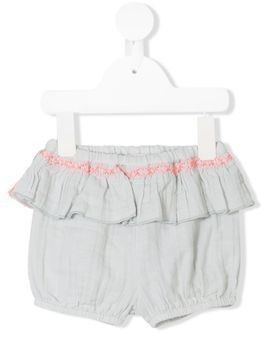 Louise Misha Paula ruffled shorts - Blue