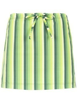 Amir Slama striped swimsuit - Green