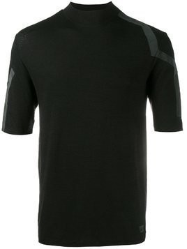 Y3 Sport stripe detail T-shirt - Black