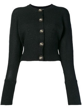 Dolce & Gabbana logo button cardigan - Black