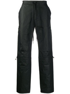 Andrea Ya'aqov waterproof track pants - Black