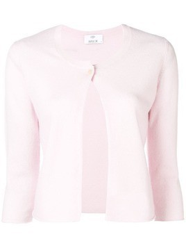 Allude single-button cardigan - Pink