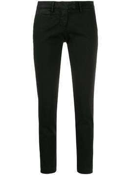 Peuterey mid-rise skinny-fit trousers - Black