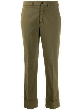 Incotex straight-fit trousers - Green