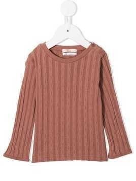 Fith ribbed long-sleeve sweater - Pink