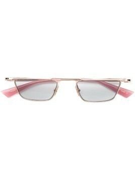 Christian Roth rectangle frame sunglasses - Gold
