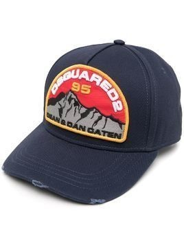 Dsquared2 mountain patch cap - Blue