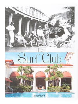 Assouline The Surf Club coffee table book - White