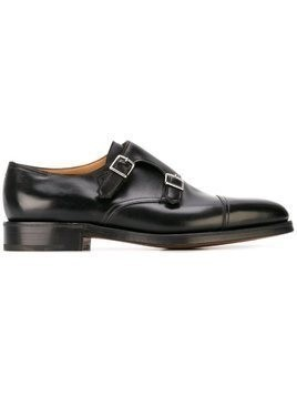 John Lobb 'William' monk shoes - Black