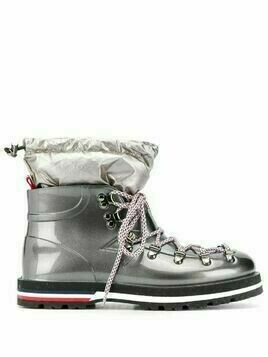 Moncler Inaya mountain boots - SILVER