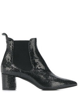 Albano elasticated panel boots - Black