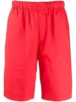 Helmut Lang pull-on shorts - Red