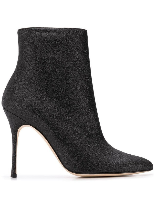Manolo Blahnik Insopo booties - Black