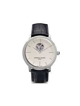 Frederique Constant Slimline Heart Beat Automatic 40mm - White