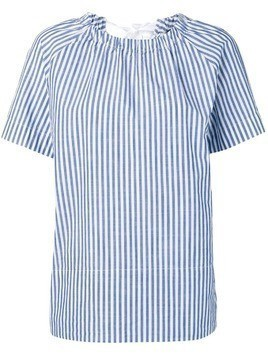 Glanshirt striped shortsleeved shirt - Blue