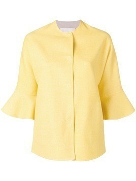 Manzoni 24 ruffled cuff jacket - Yellow