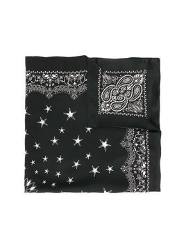 Amiri patterned scarf - Black