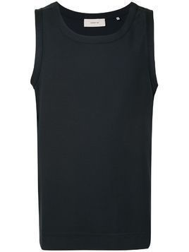 Cerruti 1881 fine knit tank top - Blue