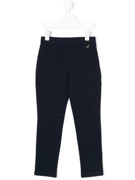 Patrizia Pepe Junior elasticated leggings - Blue