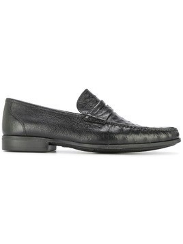 Magnanni classic textured loafers - Black