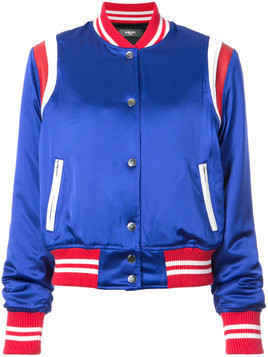 Amiri varsity baseball jacket - Blue