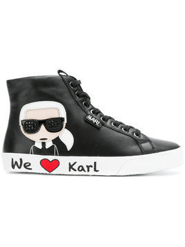 Karl Lagerfeld Karl hi-top sneakers - Black