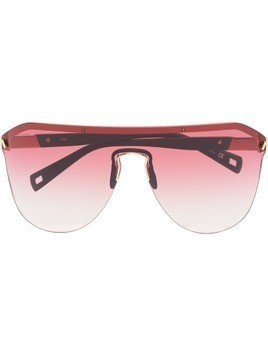 Westward Leaning pink Vibe 01 sunglasses - Red