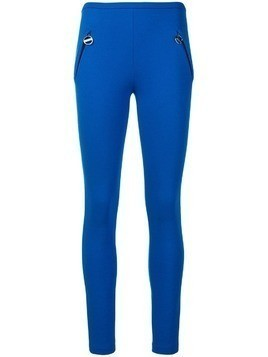 Emilio Pucci Zipped Pocket Leggings - Blue