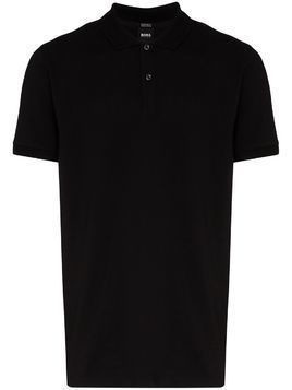 Hugo Hugo Boss pallas cotton polo shirt - Black