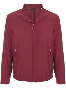 Gieves & Hawkes lightweight zipped jacket - Red